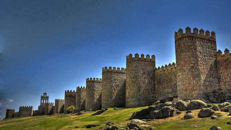 Un'antica fortezza medioevale