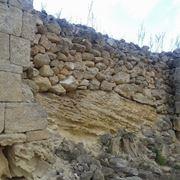 Un esempio di muro a sacco