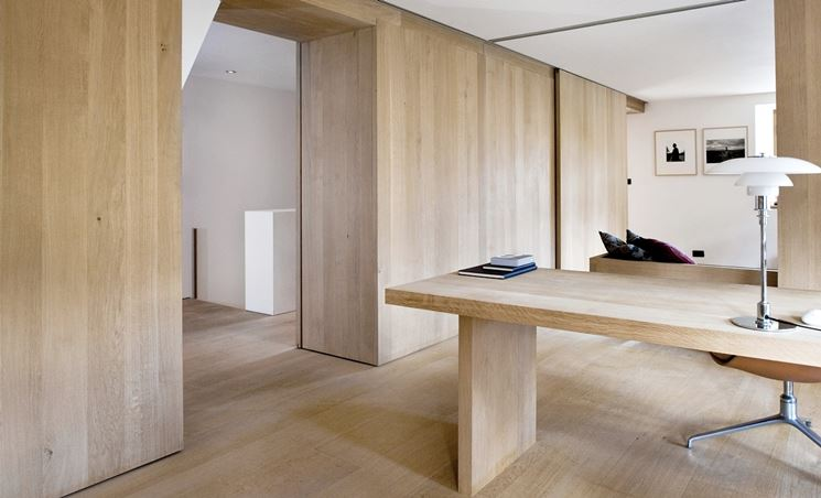 Muro legno