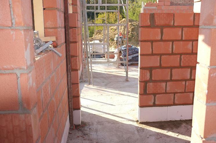 Muri portanti lavori di muratura caratteristiche muri - Spessore muri interni ...