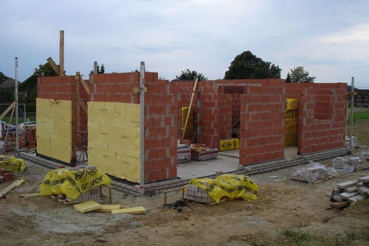 Esempio di muri portanti perimetrali