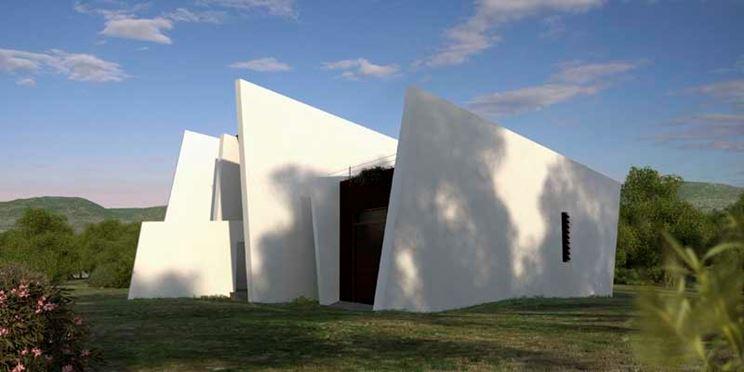 Muri prefabbricati di una casa a Valencia