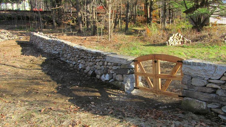Antichi muri di pietra a secco