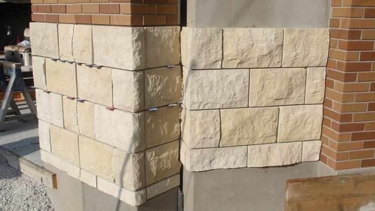 installazione pietra per esterno