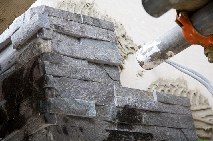 pietra rivestimenti esterni ad effetto rustico