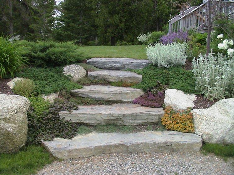 Gradini le piastrelle come rivestire i gradini - Piastrelle per scale esterne ...