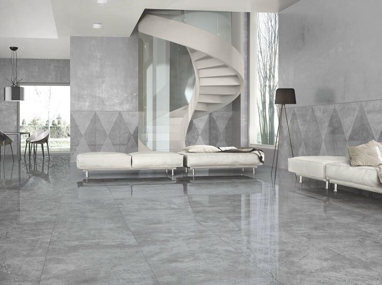 Gres porcellanato prezzi le piastrelle costo - Piastrelle gres porcellanato effetto marmo ...