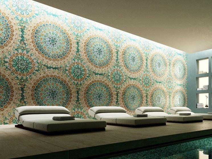 parete a mosaico