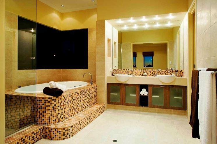 Bagno mosaico e piastrelle in mosaico per bagni with bagno