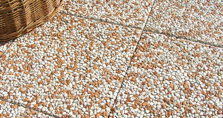 Piastrelle di cemento fai da te design casa creativa e - Rimuovere cemento da piastrelle ...