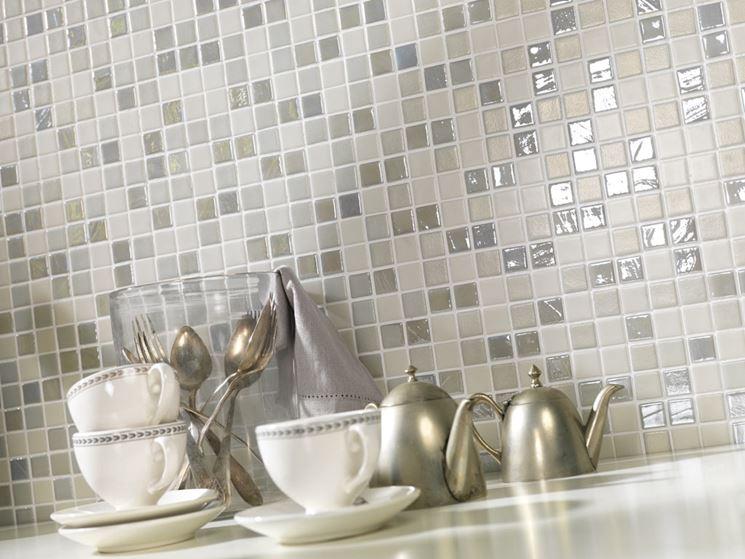 Piastrelle per cucina a mosaico