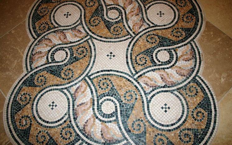 Piastrelle decorative per pavimentazioni esterne