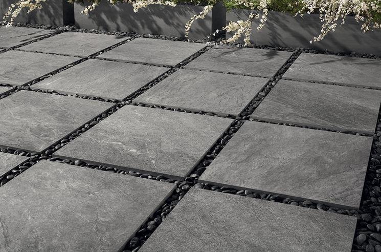 Piastrelle per giardini le piastrelle tipi di - Tipi di posa piastrelle ...