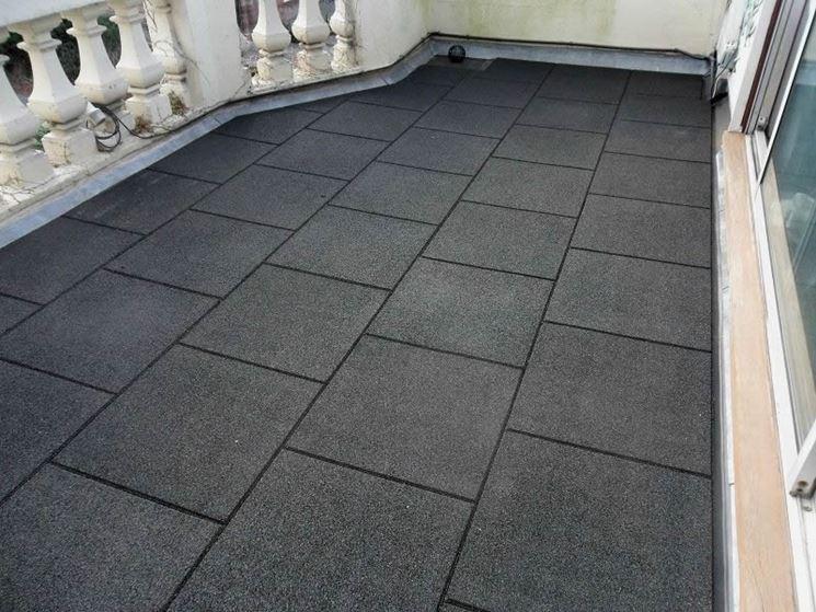 Piastrelle per terrazzi - Le piastrelle - Pavimento terrazzo