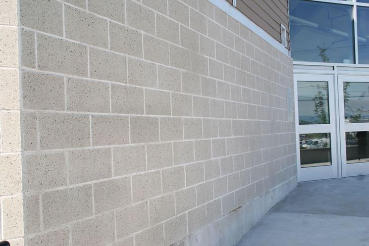 Muro calcestruzzo