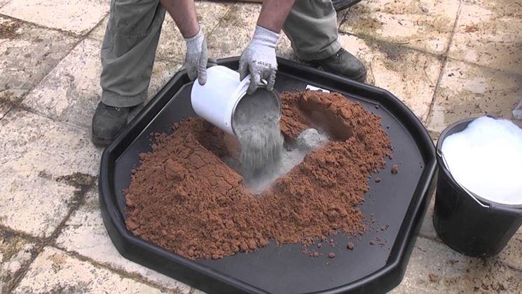 Come preparare la malta