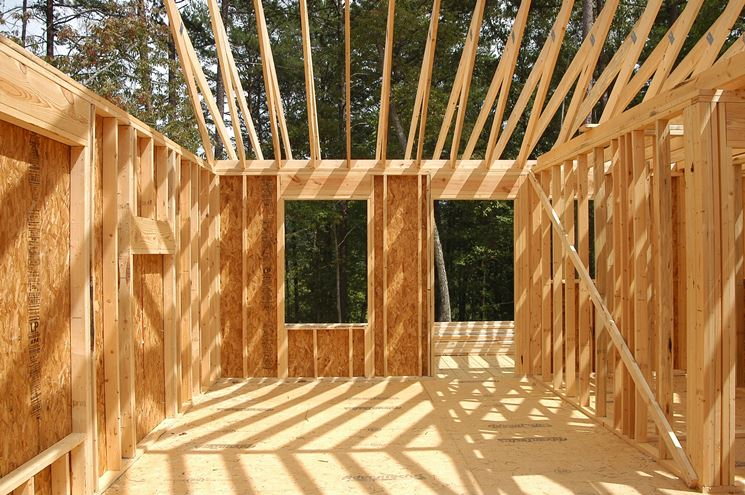 Abitazione in legno
