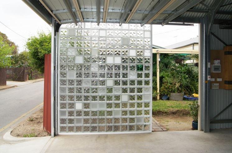 Mattoni vetrocemento materiali per edilizia - Finestra vetrocemento ...
