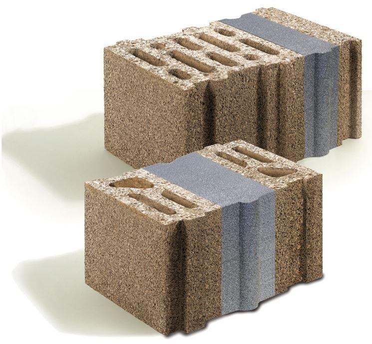 Mattoni a blocchi con multistrato