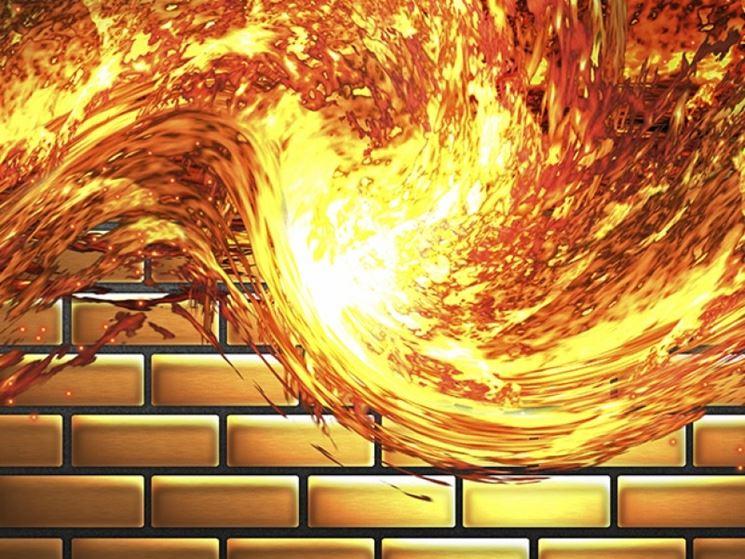 Le pareti tagliafuoco in Siporex offrono grande resistenza alle alte temperature