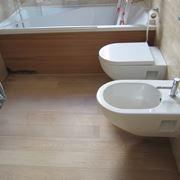 Parquet laminato in bagno