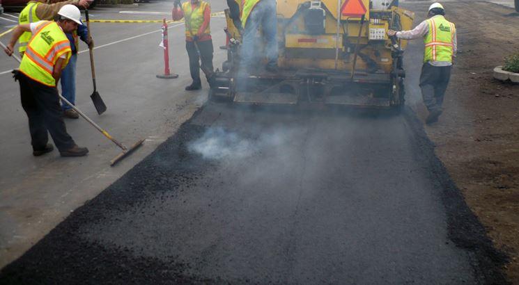 Pavimentazione asfalto