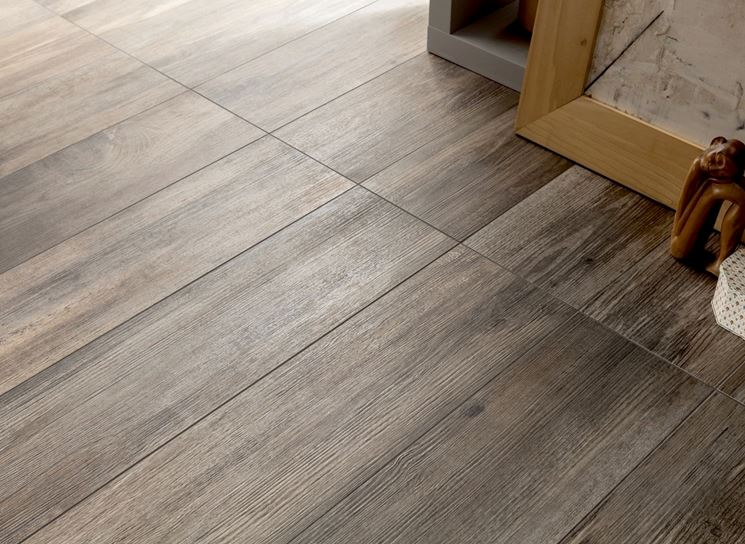 Ceramica effetto legno pavimentazione posare ceramica for Gres effetto teak