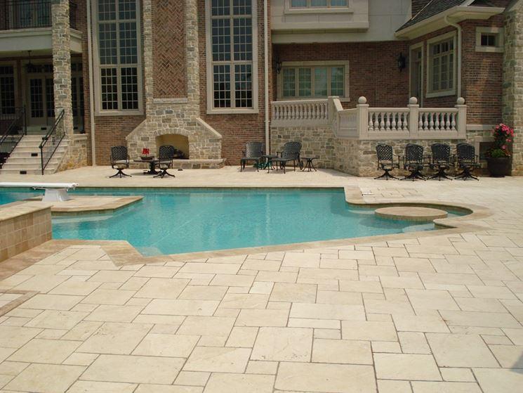pavimentazioni per piscine - Pavimentazione - pavimenti per piscina