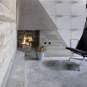 Pavimento in cemento moderno
