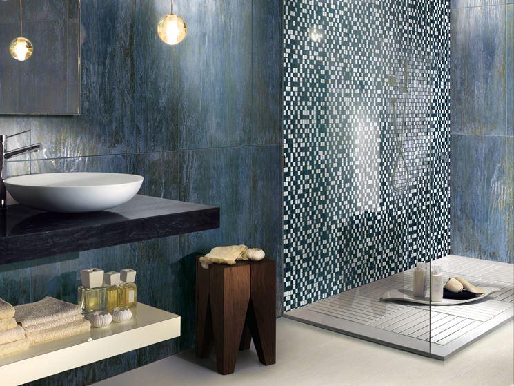 Pavimenti in ceramica pavimentazione - Mattonelle mosaico bagno ...