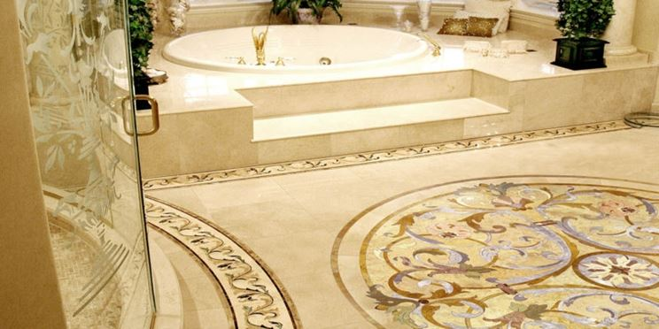 Pavimenti in graniglia eleganti