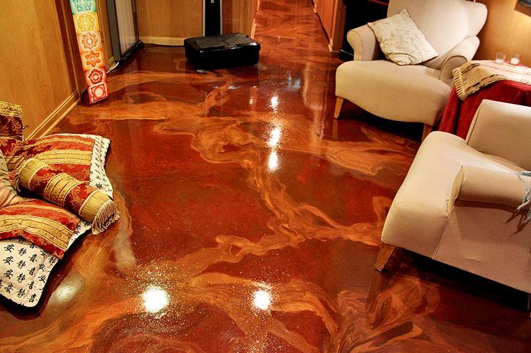 Resine per pavimento decorative