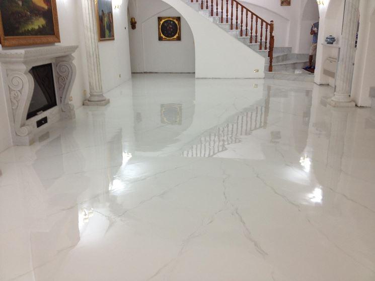 I pavimenti in resina pavimento da esterno caratteristiche dei