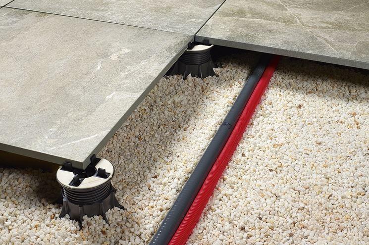 Pavimento galleggiante per esterni idea creativa della - Pavimenti galleggianti per esterni ...