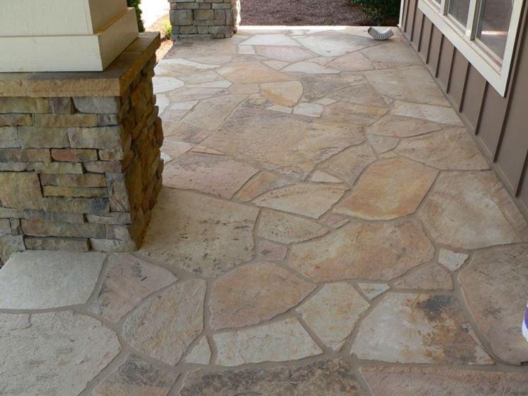 Pavimentazione terrazzi esterni decorazioni per la casa