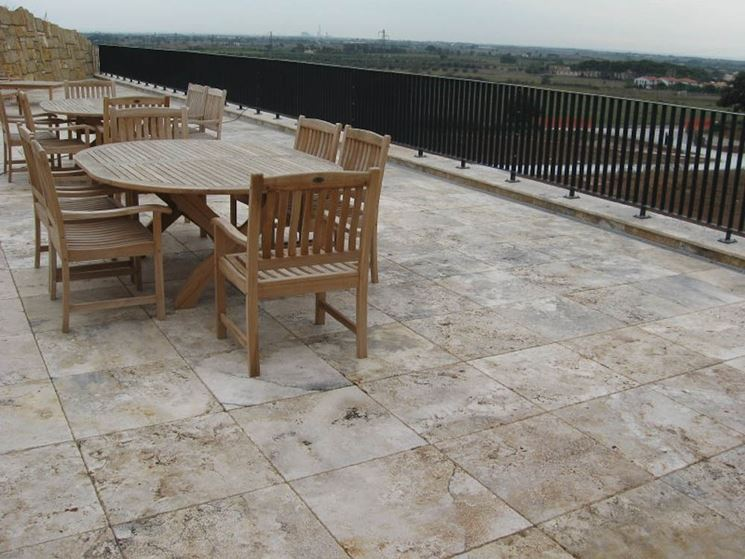 Pavimento per veranda. interesting simple dordogne pavimento per