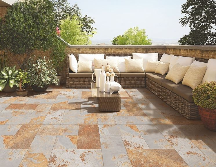 Pavimenti per giardini pavimento da esterno tipologie - Pavimento per giardino ...