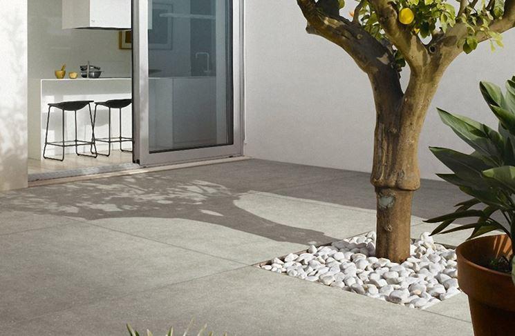 Pavimenti per terrazzo esterno - Pavimento da esterno - Rivestimenti ...