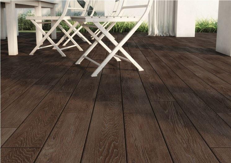 Pavimento in gres per esterni pavimento da esterno - Piastrelle in legno da esterno ...