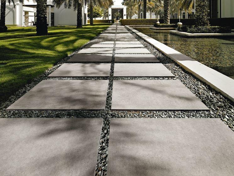 Camminatoio cemento