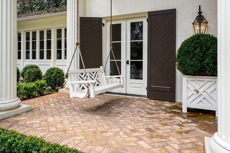 Piastrelle per giardino in stile classico
