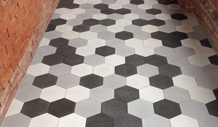 Piastrelle per pavimenti pavimento da esterno pavimento - Materiale per piastrelle ...