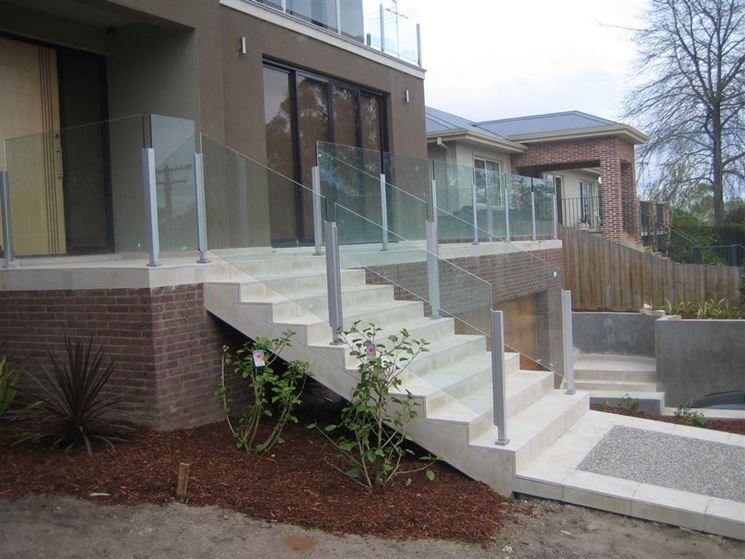 Rivestimenti per scale esterne pavimento da esterno - Scale per esterno in muratura ...