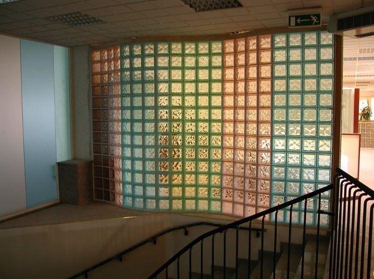 Varietà di colori del vetrocemento