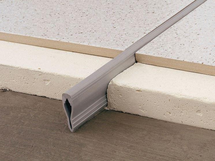 Giunti di dilatazione per pavimenti pavimento da interno