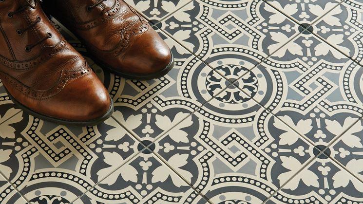 Mosaico pavimento