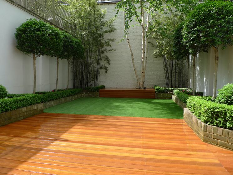 Giardino bambù
