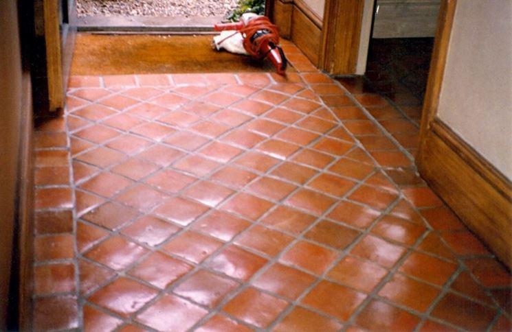 Esempio di pavimenti in cotto