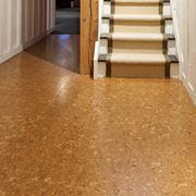 Un esempio di pavimento in sughero