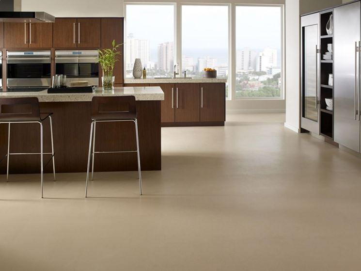 Pavimento cucina pavimento da interno tipi di pavimenti per cucina - Mattonelle pavimento cucina ...